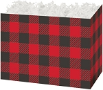 Basket Box -Small- Buffalo Plaid
