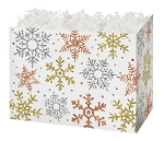 Basket Box -Small- Glitter Snow