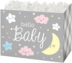 Basket Box -Small- HELLO BABY