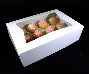 Cupcake box for 12 cupcakes ( insert sold separately choose option on the right)